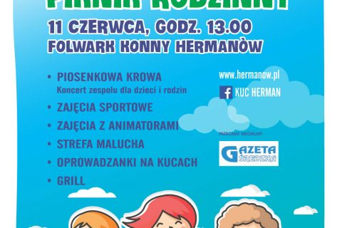Dzień Dziecka 2017 - Folwark Konny Hermanów - Plakat